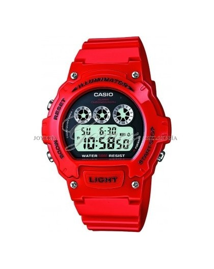 Reloj Casio digital Ref. W-214HC-4AVEF