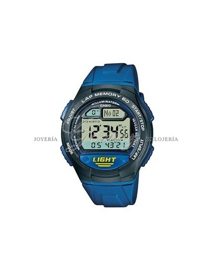 Reloj Casio Lap Memory ref. W-734-2AVEF