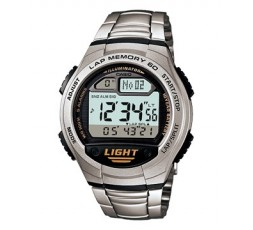 Reloj Casio de acero Ref. W-734D-1AVEF