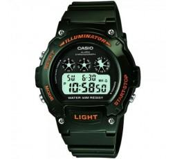 Reloj Casio digital negro Ref. W-214HC-3AVEF