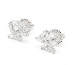 pendientes de plata Salvatore Ref. 236A0020