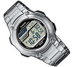 Reloj Casio de acero digital Ref. W-212HD-1AVEF