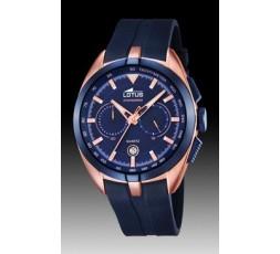 Reloj azul anuncio Lotus Ref. 18190/2