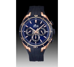 Reloj azul anuncio Lotus Ref. 18193/1