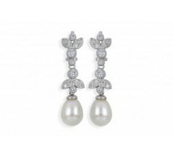 Pendientes de perlas con swarovski Maximo Betro Ref. 4731