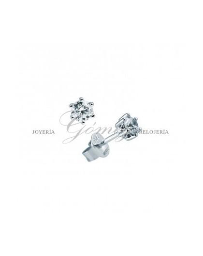 Pendientes de plata con circonitas Diamonfire Ref. 6212681082