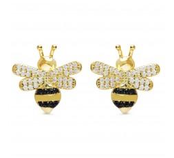 Pendientes Luxenter abeja de circonitas Ref. EH288Y0000