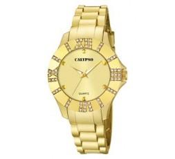 Reloj caucho dorado Ref. K5649/A