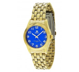 Reloj Marea dorado esfera azul Ref. B21156/3