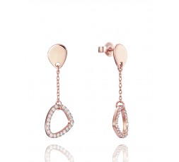 Pendientes de plata rosa Viceroy Jewels Ref. 85001E100-37