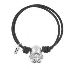 Pulsera trooper Star Wars negra Ref. SW1001B0110