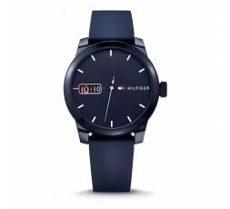 Reloj de caballero de caucho azul Tommy Hilfiger Ref. 1791381