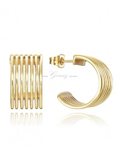 Pendientes de aros chapados Viceroy Fashion Ref. 75084E01012