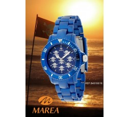 Reloj calaveras azul Marea Ref. B40155/16