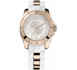 Reloj blanco y dorado Tommy Hilfiger Ref. 1781305