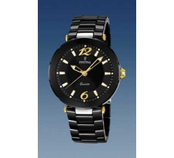Reloj ceramica Festina negro Ref. F16640/4