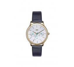 Reloj de piel dorado para seÒora Mark Maddox Ref. MC7103-07