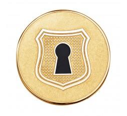 Medallon Candado IP dorado Viceroy Plaisir Ref. VMC0004-06
