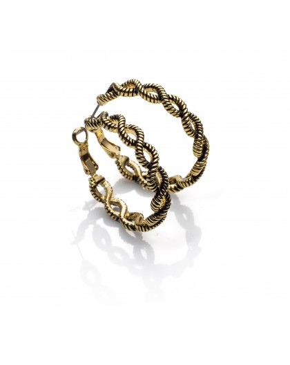 Pendientes aros dorados Viceroy Fashion Ref. 3137E19012