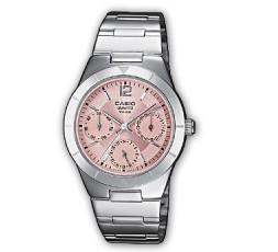 Reloj Casio de acero Ref. LTP-2069D-4AVEF