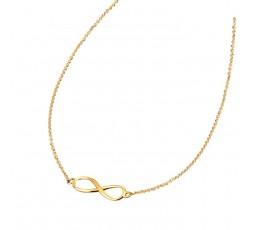 Collar infinito chapado Lotus Silver Ref. LP1224-1/1