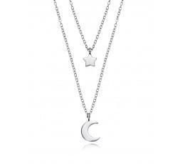 Collar de plata luna y estrella Viceroy Jewels Ref. 5064C000-08