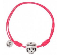 Pulsera de playmobil brisa Ref. CP00051 rosa