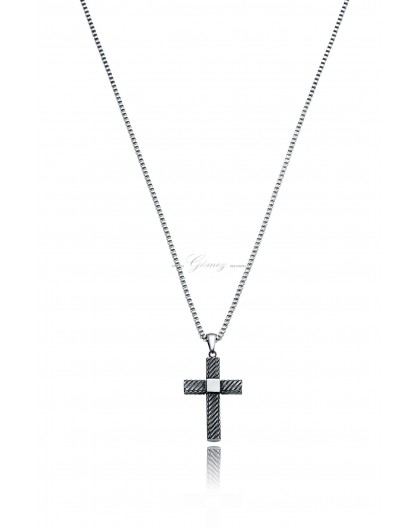 Cruz de acero Viceroy Fashion Ref. 75021C01000