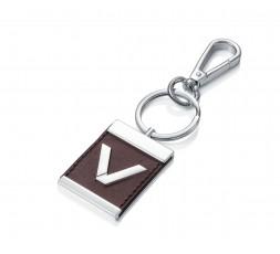 Llavero Viceroy acero y cuero Ref. 75027L01011