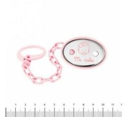 Pinza de chupete rosa Ref. K-00648-B-5