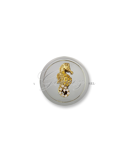 Moneda Atlantis Swarovski Caballito Champagne Ref. M-SW-CAB-02-42