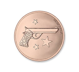 Moneda Aim High & Pistol Mi Moneda Ref. M-MON-AIM-03-S