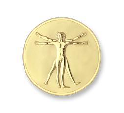 Moneda Da Vinci & Hand Ref. M-MON-DAV-02-S