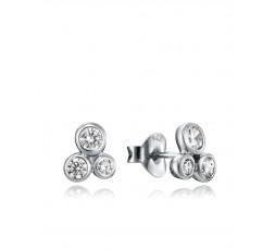 Pendientes de plata Viceroy Jewels Ref. 4085E000-38