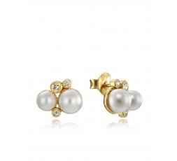 Pendientes de plata Viceroy Jewels perlas Ref. 4084E100-66