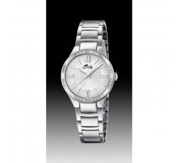 Reloj de señora Lotus de acero Ref. 18387/1