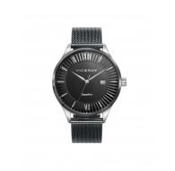 Reloj caballero Viceroy malla milanesa negro Ref. 471229-93